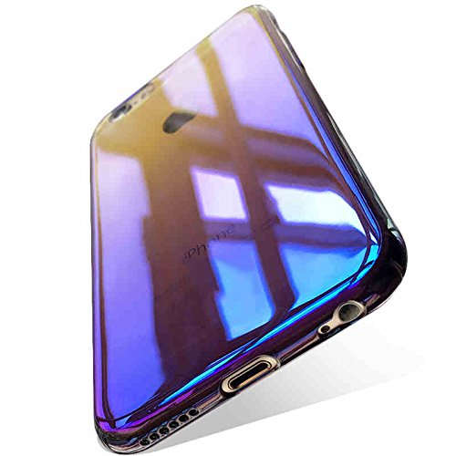 Kapa Aurora Gradient [Full Coverage] Potective Hard Back Case Cover for Apple iPhone 8 Plus/iPhone 7 Plus [5.5]   Blue