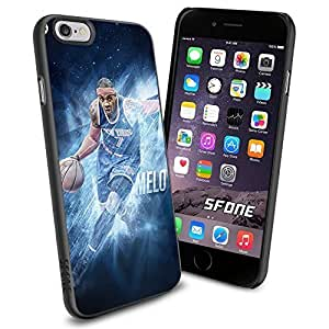 Carmelo Anthony New York Knicks WADE1032 Basketball iphone 5c inch Case Protection Black Rubber Cover Protector
