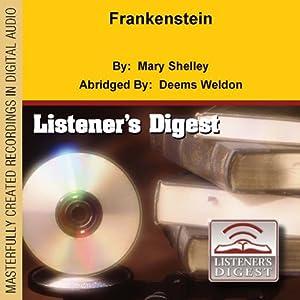 Frankenstein Audiobook