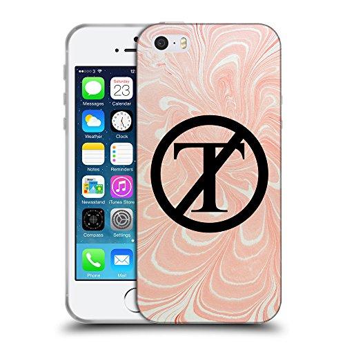 Super Galaxy Coque de Protection TPU Silicone Case pour // Q04130556 PAS de marbre de triomphe // Apple iPhone 5 5S 5G SE