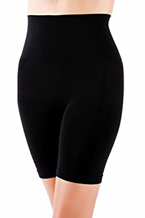 6283c27bcf Women s Tummy Bum Thigh Control Black or Nude  Amazon.co.uk  Clothing