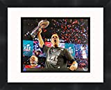 Tom Brady Super Bowl LI (51) 2016 New England Patriots 14 x 11 Matted Collage Framed Photos Ready to hang