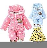 Gaorui Newborn Baby Jumpsuit Outfit Hoody Coat