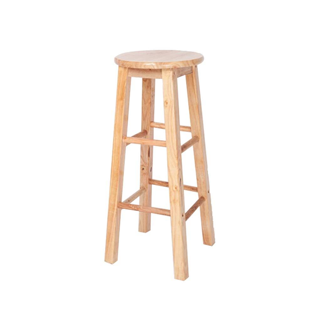 70CM high Step Stool Wooden - Schritt Hocker 100% Massivholz Regal Mehrzweckleiter für Home Kitchen Loft Welcome (größe   70CM high)