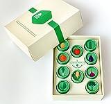 EcoFarms Organic Non Gmo Vegetable Heirloom Seeds Kit for Home Gardening