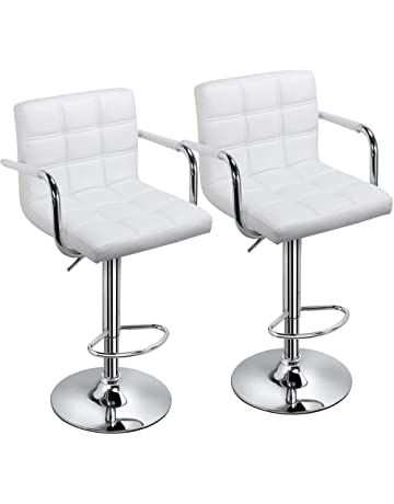 b92e4db4967 Yaheetech Bar Stools Set of 2 Kitchen Breakfast Bar Stools Bar Chair for  Kitchens with 41CM