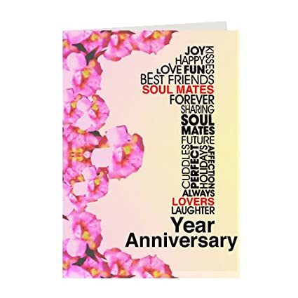 Giftsbymeeta first anniversary cardgreeting card for first giftsbymeeta first anniversary cardgreeting card for first anniversary greeting card for wife m4hsunfo