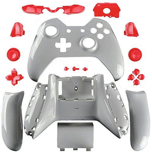 ModFreakz® Shell/Button Kit Arctic Collection - Arctic Red For Xbox One  Model 1697 Controllers