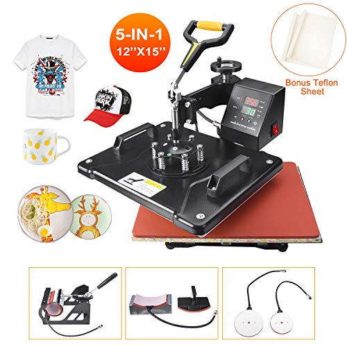 Power Heat Press Machine