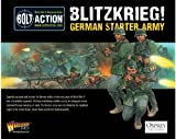 Bolt Action Blitzkrieg! German Starter Army Pack 1:56 WWII Military Wargaming Figures 1000pts Plastic Model Kit
