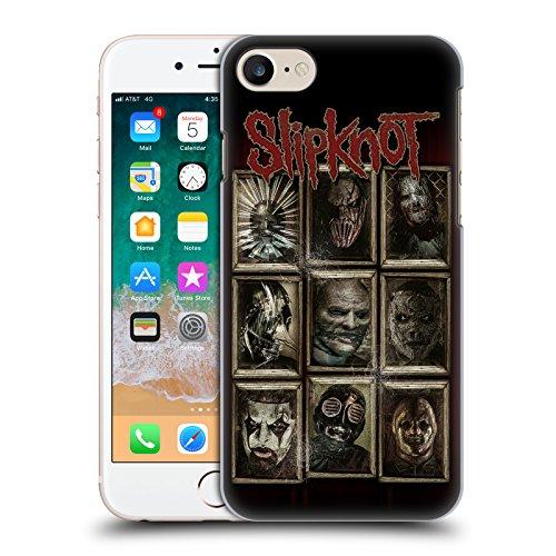 Official Slipknot Masks Key Art Hard Back Case Compatible for iPhone 7 / iPhone 8]()