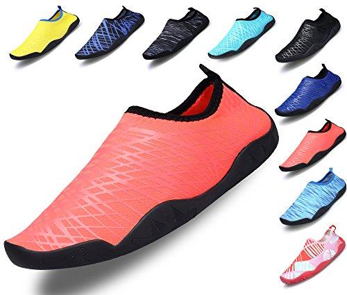 Sikelo Zapatos Ligeros Deportivos De Agua De Secado Rápido Para Hombres Y Mujeres De Color Rosa