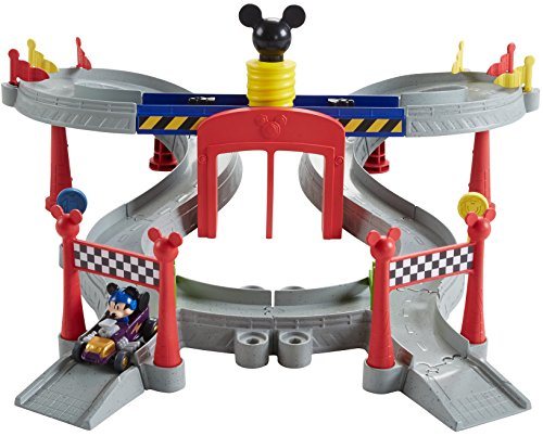 Fisher-Price Disney Mickey & the Roadster Racers, Mickey Ears Raceway]()