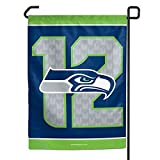 Seattle Seahawks 12th Man Garden Flag 11 x 15 inches