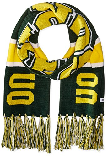 NCAA Oregon Ducks '47 Breakaway Scarf with Tassels, One Size Fits Most, Dark Green