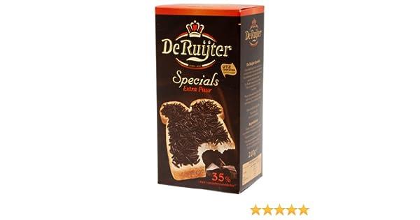 De Specials Ruijter chocolates-un trozo De tarta, chocolate, copos Extra Puur, 240 G: Amazon.es: Alimentación y bebidas