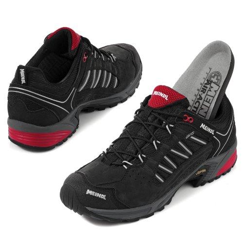 Zapato de hombre para caminatas ligeras SX 1 GTX Negro/Rojo