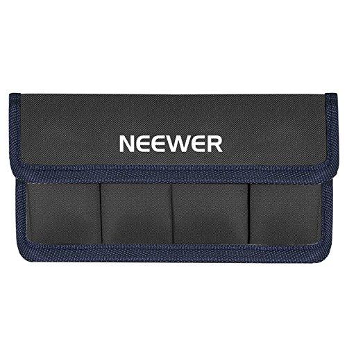 Neewer DSLR Battery Bag Holder Case for AA Battery and lp-e6