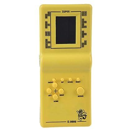 Sodial R Tetris Juego De Mano Lcd Held Electronicos Juguetes Juego