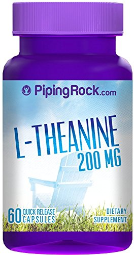 L-théanine 200 mg 60 Capsules