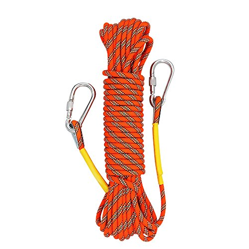 Xben Outdoor Climbing Rope 10M(32ft) 20M(64ft) 30M (96ft) 50M(160ft)