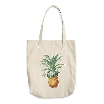 Bolso de piña con bolsa de lona impresa bolsa de lona bolsa ...