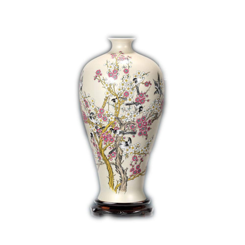 Amazon.com: LVLUOYE Jingdezhen - Jarrón de cerámica pastel ...