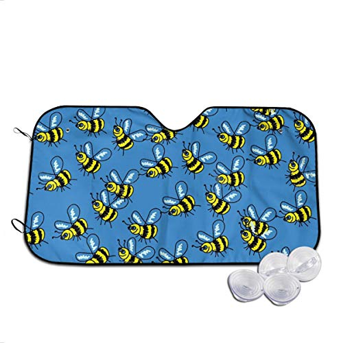 Too Much Tuna Costumes - VIVIAN RICE Yellow Bee Pattern Foldable