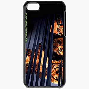 Personalized iPhone 5C Cell phone Case/Cover Skin A scanner darkly keanu reeves bob arctor winona ryder donna hawthorne robert downey jr. james barris woody harrelson ernie luckman face Movies Black