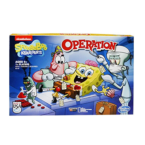 (SpongeBob SquarePants Operation Game)