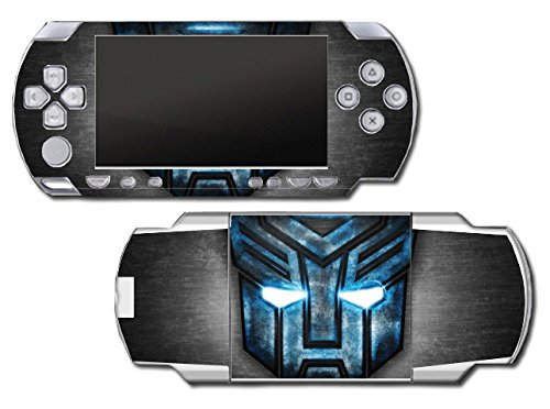 Transformers Autobots Logo Decepticon Cars Robots Video Game Vinyl Decal Skin Sticker Cover for Sony PSP Playstation Portable Original Fat 1000 Series System