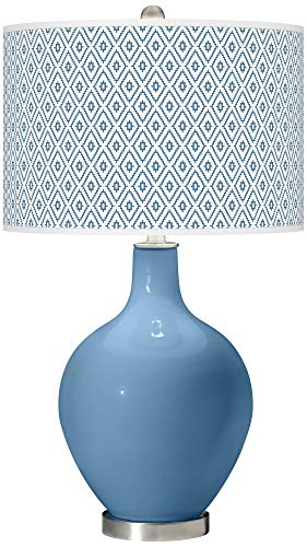 Secure Blue Diamonds OVO Table Lamp - Color + Plus ()