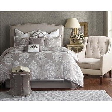 Bombay Cortina Multi Piece Comforter Set, California King, Ivory