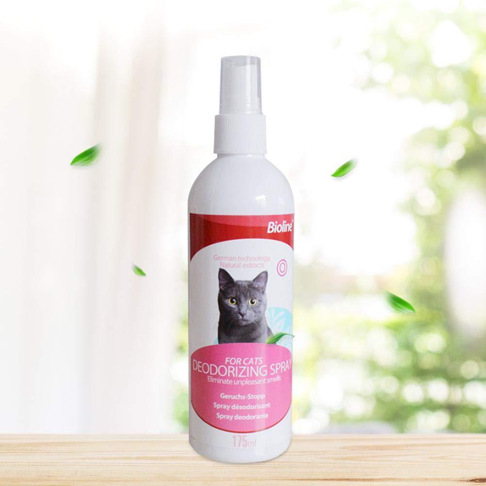 yanyaoo - Desodorante en espray para Gatos (175 ML): Amazon.es: Productos para mascotas