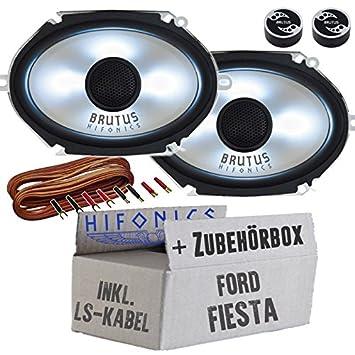 Ford Fiesta Beleuchtung | Ford Fiesta Hifonics Bx682i 6x8 Oval Lautsprecher Mit Led