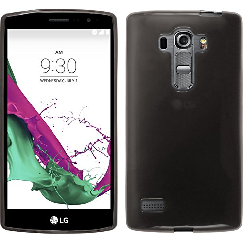 Silicone Case for LG G4s/G4 Beat - transparent black - Cover PhoneNatic + protective foils