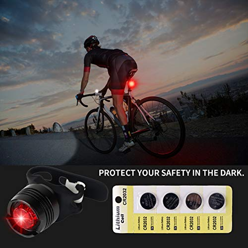 LETION Rechargeable Bike Light Set,Super Bright Bike Lights Front and Back Cycling Bike Headlight,3 Modes IPX5 Front Mountain Bicycle Lights for All Bikes,Road,Street,Kids