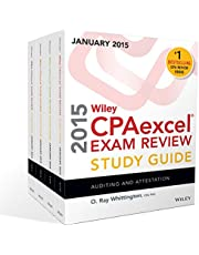 Wiley CPAexcel Exam Review 2015 Study Guide January: Set