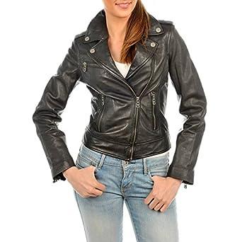 Veste en cuir femme a paris