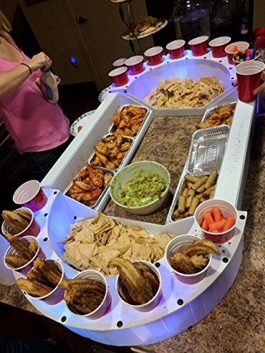 (World Cup The Ultimate Snack Stadium (Lights Included) 54 X 26 X 6)
