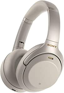 Sony WH-1000XM3 Bluetooth Over-Ear Noise Cancelling Headphones, Silver