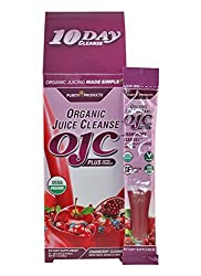 10 Day Cranberry Organic Juice Cleanse - Ojc Plus