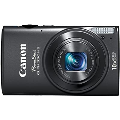 Canon PowerShot ELPH 330 HS 12.1 MP Wi-Fi Enabled CMOS Digital Camera with 10x Optical Zoom 24mm Wide-Angle Lens and 1080p Full HD Video