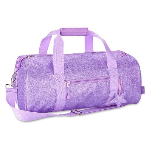 bixbee-little-girls-sparkalicious-duffle-purple-one-size-discontinued-by-manufacturer-by-bixbee