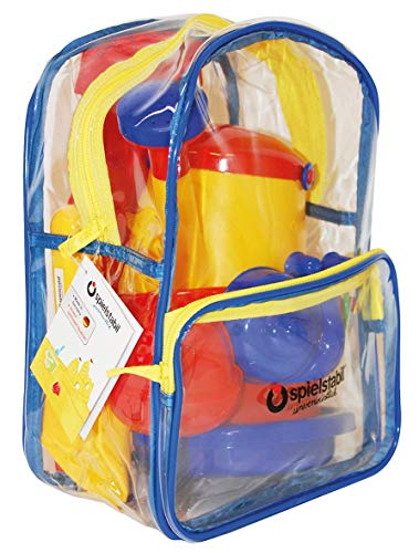 Spielstabil 7505 6-Piece Sand Set Classic in Backpack - New ()