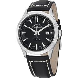 Zeno Men's 6662-2824-G1 Gentlemen Analog Display Automatic Self Wind Black Watch