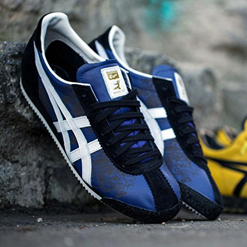 Aas X Bruce Lee X Onitsuka Tiger Mannen Tiger Corsair - Jeet Kune Do Maat 13 Vs, Marine / Wit Navy / Wit