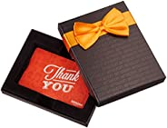 Amazon.com Gift Card in a Black Gift Box (Thank You Icons Card Design)