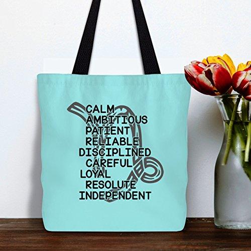 amazon com things about capricorn bag tote bag handbags for women