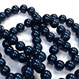 100 pcs Swarovski 5810 Crystal Pearls beads 4mm PETROL PEARL (001 600)
